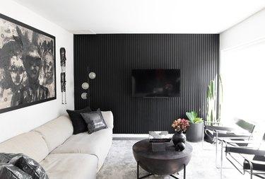 living room of Duett Interiors founder Tiffany Thompson