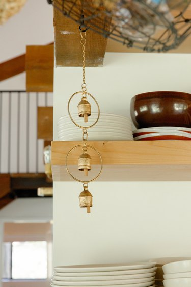 Chakra-balancing chimes in the kitchen