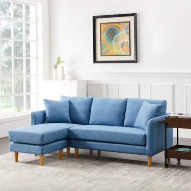 Kiwell Reversible Sofa with Chaise Lounge
