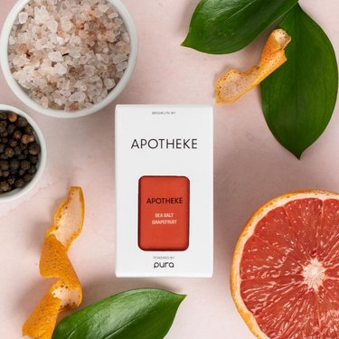Pura Smart Device ($44) + Apotheke Sea Salt Grapefruit Cartridge ($16)