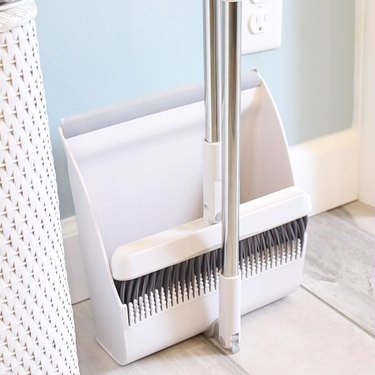 H2O SimplyClean Collapsible Broom and Dustpan