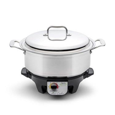 360 Cookware 6 Quart Slow Cooker Set