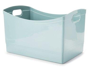 Aqua Slate Multi-Purpose Storage Bin