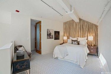 kamala harris san francisco apartment  bedroom