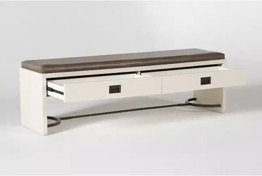 dining bench with drawers