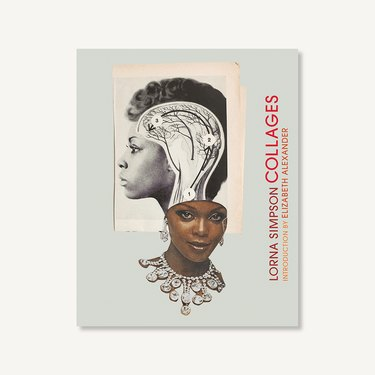 cover image of lorna simpson collages book