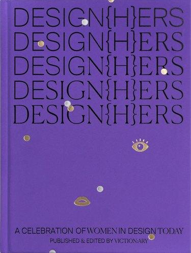 design{h}ers book cover in purple