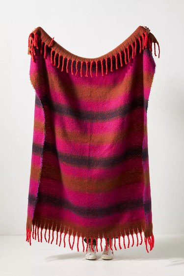 Rives Striped Throw Blanket