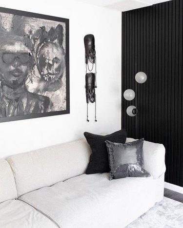 living room detail of Duett Interiors founder Tiffany Thompson