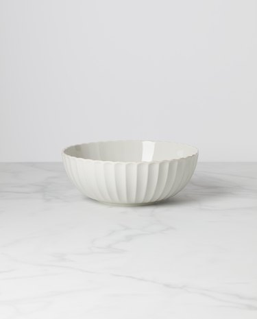 Lenox French Perle Scallop Serving Bowl