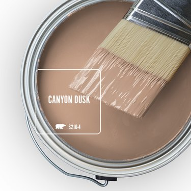 paint can with canyon dusk