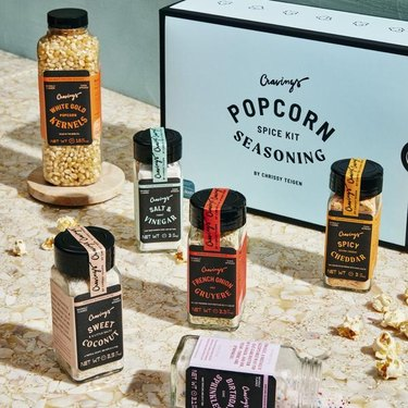 cravings by chrissy teigen Poppin' Off Popcorn Seasoning Kit