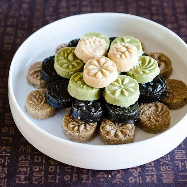 Kimchimari Korean Tea Cookies (Dasik)