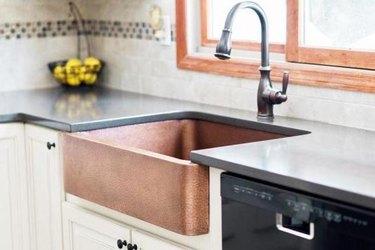 Best kitchen sink materials copper sink