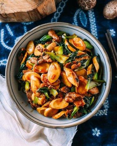 The Woks of Life Stir-Fried Rice Cakes (Chao Nian Gao)