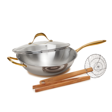 cravings by chrissy teigen Pepper's Wok and Tool Set