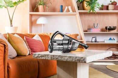 vacuum on table