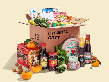 photo of ingredients and foods that umamicart delivery service offers