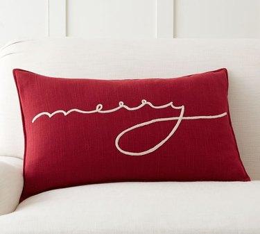 Pottery Barn Merry Lumbar Pillow