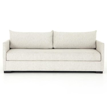 sleeper sofa with performance fabric