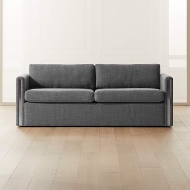sleeper sofa with metal details