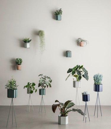 Y Lighting planters