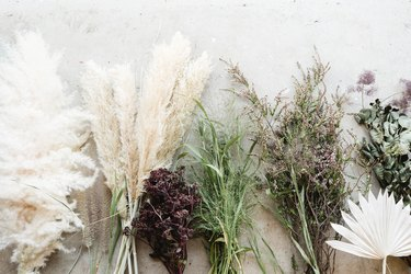 Image of dried and fresh florals