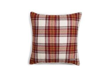Eddie Bauer Edgewood Plaid Flannel Sherpa Throw Pillow