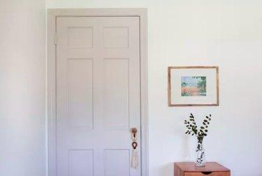 painted bedroom dor