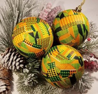 Kwanzaa decorations, kente ornaments