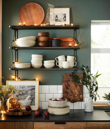 Crate & Barrel fall color trends