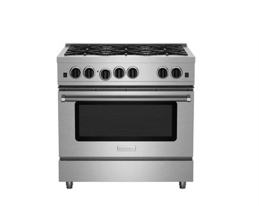 best gas stove BlueStar 36″ Culinary Series (RCS) Open Burner Range