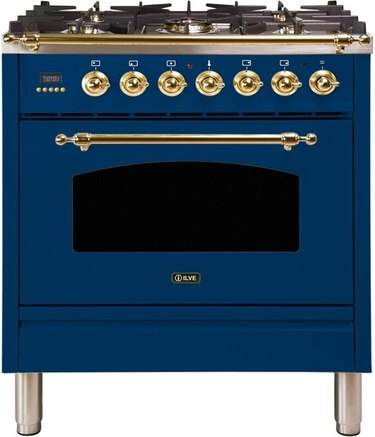 best gas stove ILVE Nostalgie Series Freestanding Dual Fuel Range from Wayfair