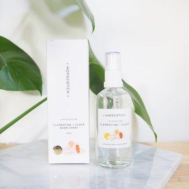 Clementine + Clove Natural Room Spray