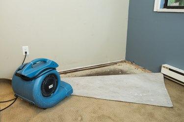Flood home restoration