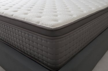 closeup of bed and luxury mattress