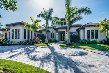 Stunning home with grand entrance