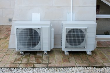 Two air conditioning units