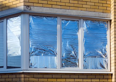 Why Do People Put Foil on Their Windows?