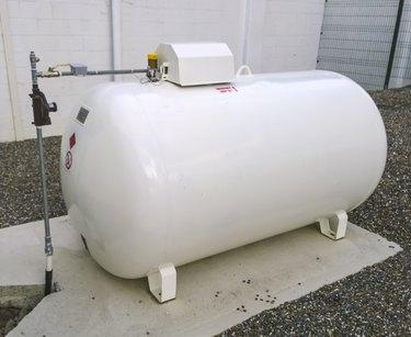 Bulk storage tank for the LPG