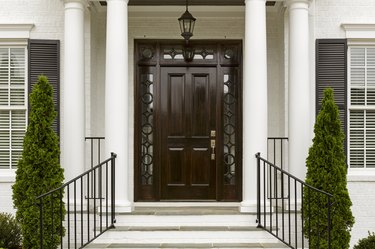 How to Protect Doors With Sidelights