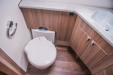 Modern Motorhome Bathroom