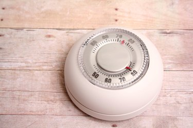 thermostats and thermometer