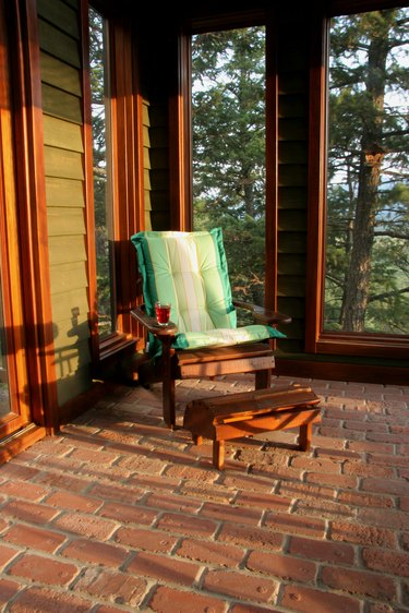 Hot Summer's Evening On The Porch.