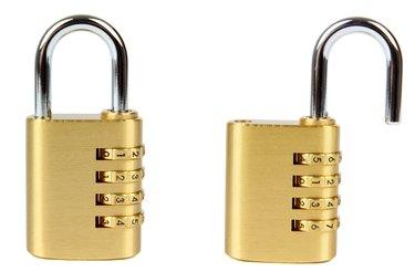 padlocks with 4-digit combination locks