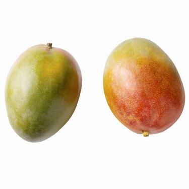 Ripe mangos.