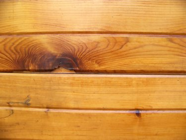 Wood planks as background
