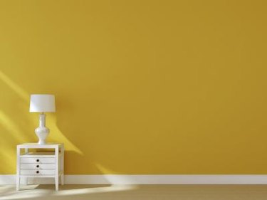 What Matches Yellow Walls?