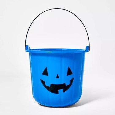blue halloween bucket at target