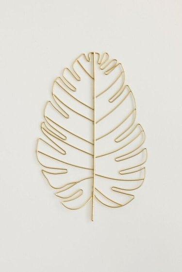 gold leaf cut out